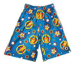 Boys Rubber Chicken Attack Shorts