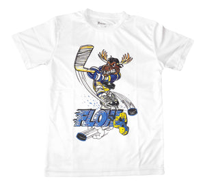 Boys Face Off Moose Tee Shirt