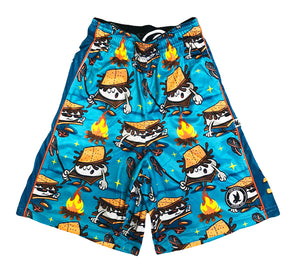 Boys S'Mores Society Attack Short