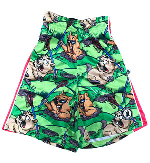 Toddler Punxsutaney Flow Attack Short