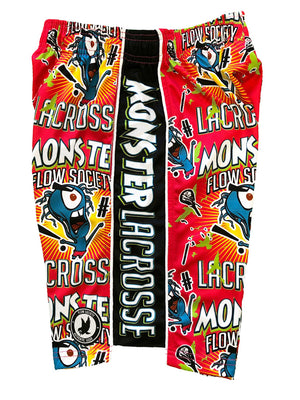 Mens Lax Monster Attack Short