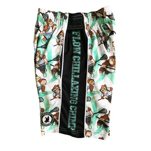 Boys Laxing Chimp Attack Short