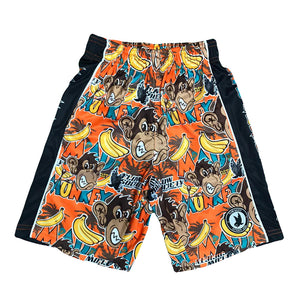 Boys Mad Monkey Attack Short