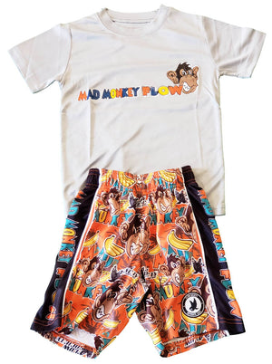 Boys Mad Monkey Attack Outfit