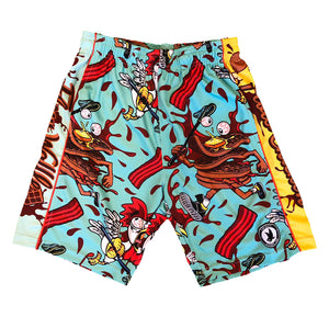 Boys Chicken & Waffles Attack Shorts