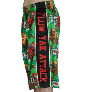 Boys Yak attack Shorts
