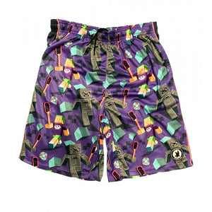 Boys Flowcraft Attack Shorts