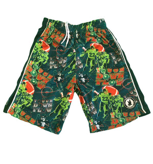 Boys' Touch Down Flow Attack Shorts