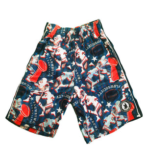 Boys Flow Bowl Football Attack Shorts