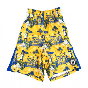 Boys Golden State Hoops Attack Short