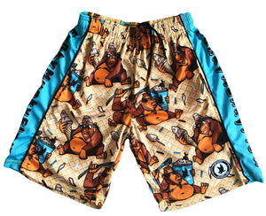 Boys Funky Munky Attack Shorts