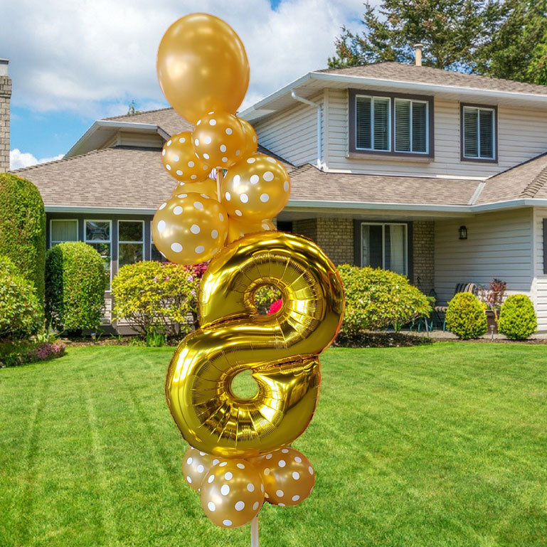 Balloon Stake - Number