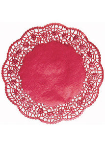Doilies - Gold 10.5in Foil Round Doilies 6pk