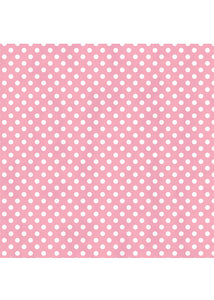 Tissue Printed Pink Dot