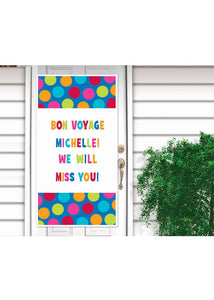 Personalize It - Cabana Dot Door Decoration Kit -