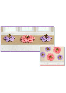 Decoration - Spring Flowers 5pk