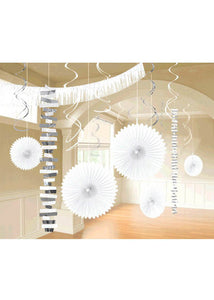 White Kit - Paper & Foil 18-Piece Decorating Kit