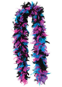 Boa - 100gr Multi-colour - Fuchia,/Black/Blue/Purple