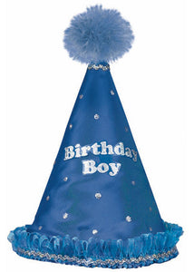 Novelty - Birhday Boy Cone Hat