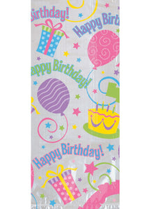 Birthday Balloons Bag - Happy Birthday Large Party Bag