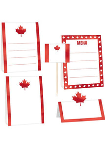 Canada Day Buffet Decorating Kit