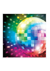 Disco Fever - Napkins - Beverage 16pk