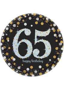Sparkling Celebration 65 Plate - 7in Prismatic Plates 8pk