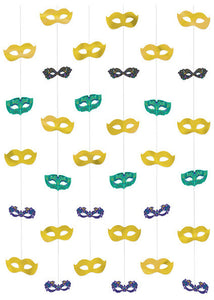 A Night In Disguise String Decorations 6pk
