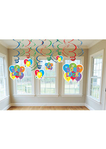 Good Luck Decoration - Swirl Value Pack 12pk