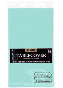 Blue - Robins Egg Blue Tablecover - Rectangular 108in x 54in