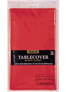 Red - Apple Red Tablecover - Rectangular 108in x 54in