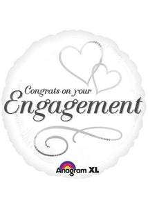 Engagement - Congrats on Your Engagement 18in Foil Balloon