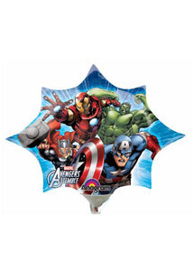 Avengers Assemble Mini Shape14in Air Fill Foil Balloon