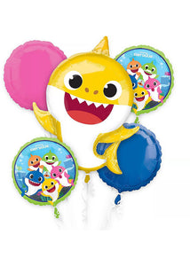 Helium-Filled - Arranged - Baby Shark Balloon Bouquet