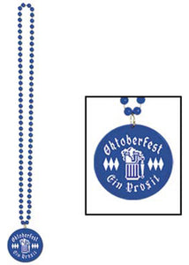 Beads with Printed Oktoberfest Medallion