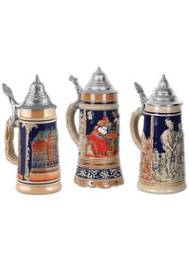 Decoration - 18in Beer Stein Cutouts 3pk