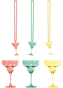 Novelty - Beads with Margarita Glass-Assorted Colours