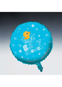 Baby Shower Boy - Lil Quack Baby Shower 18in Foil Balloon