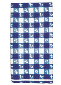 Gingham Tablecover-Blue/White