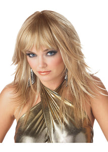 Feathered & Flirty Wig - Blonde
