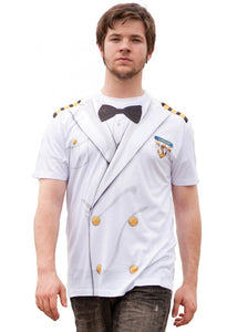 FauxReal Photorealistic Apparel - Cruise Captain T-Shirt
