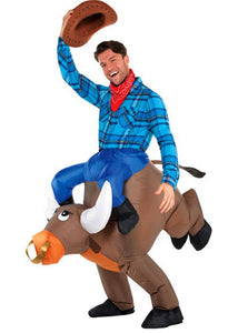 Bull Ride-On Inflatable