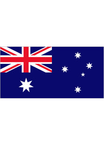12x18in Flag On Stick-Australia