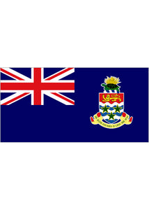 12x18in Flag On Stick-Cayman Islands