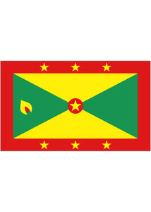 12x18in Flag On Stick-Grenada
