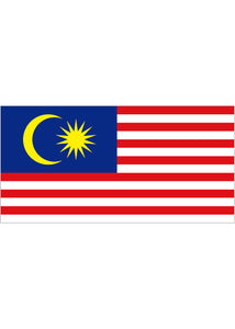 12x18in Flag On Stick-Malaysia