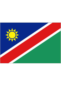 12x18in Flag On Stick-Namibia