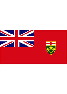 3x5ft Flag-Ontario