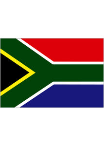4x6in Flag On Stick-South Africa