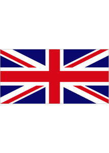 United Kingdom - 12x18in Flag On Stick